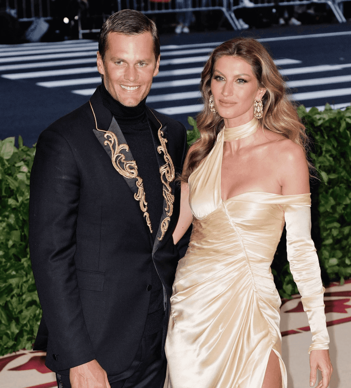 Tom Brady and Gisele Bündchen at the Heavenly Bodies: Fashion & The Catholic Imagination Costume Institute Gala on May 7, 2018. | Source: Getty Images