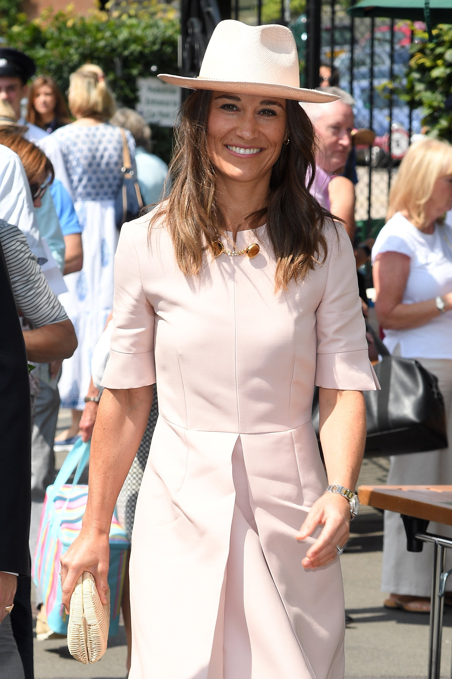 Pippa Middleton during day seven of the Wimbledon Tennis Championships, July 8, 2019 | Photo: Getty Images