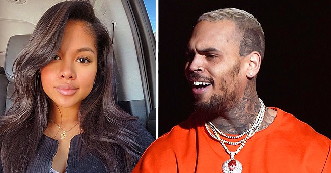 Chris Brown's Babymama Ammika Harris Dotes on 5-Month-Old Son Aeko in a Photo