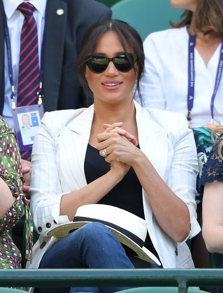 Meghan, Duchess of Sussex attends day four of the Wimbledon Tennis Championships | Photo: Getty Images