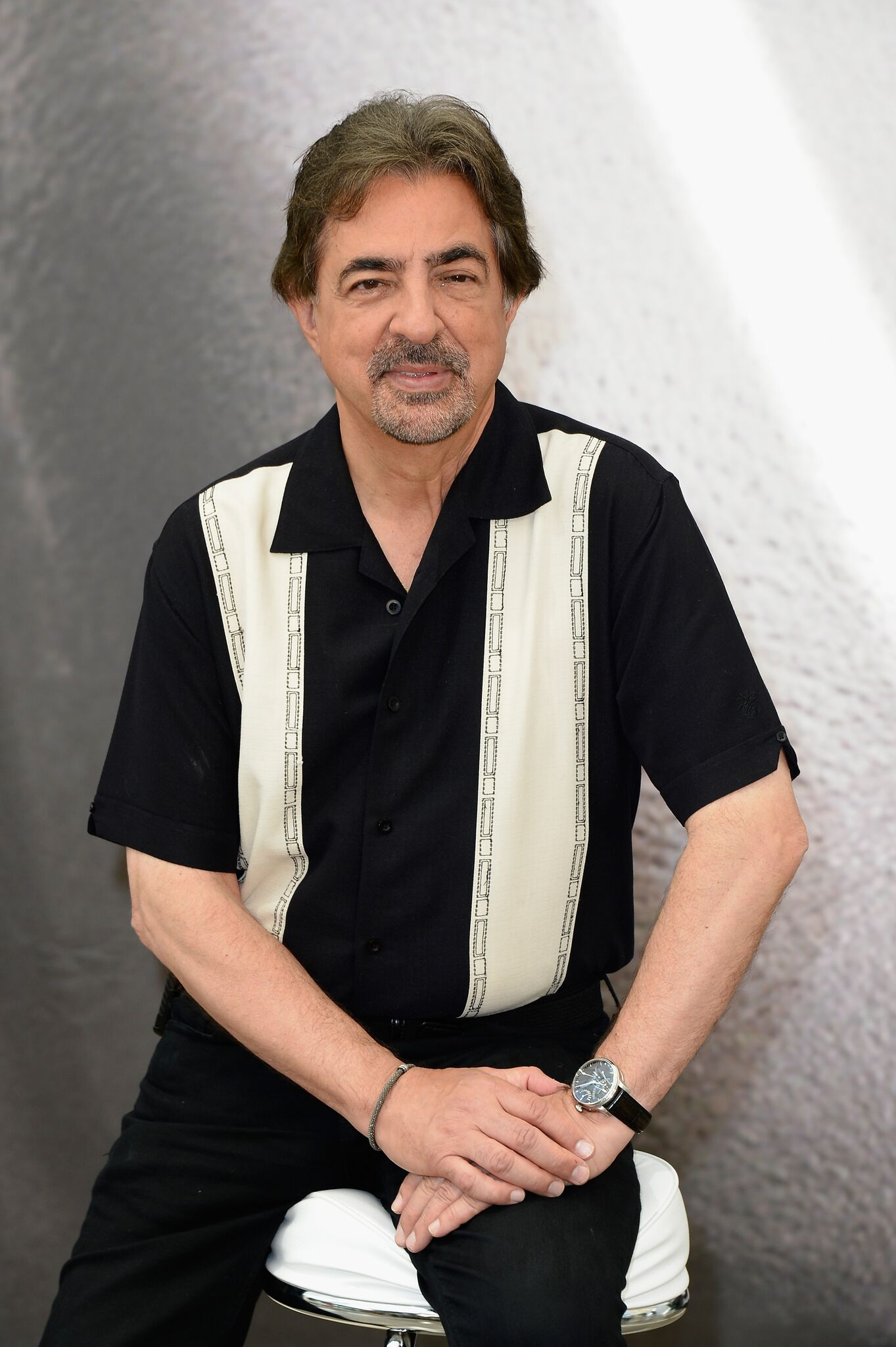 Joe Mantegna poses at a photocall during the 53rd Monte Carlo TV Festival | Getty Images