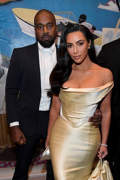 Kanye West and Kim Kardashian West attend Sean Combs 50th Birthday Bash presented by Ciroc Vodka on December 14, 2019 in Los Angeles, California. | Photo: Getty Images
