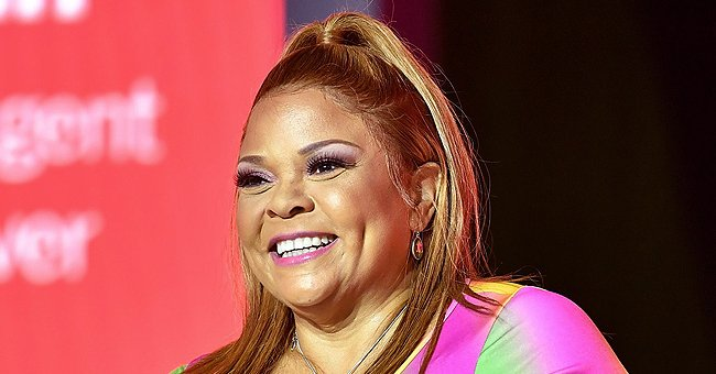 See Tamela Mann's Daughter Tia Put Her Curves on Display in a Tight Lacy Sheer Dress on Her 31st Birthday