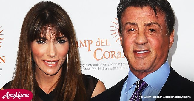 Sylvester Stallone shares a 30-year-old throwback photo with his wife. They look unrecognizable