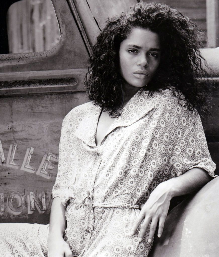 """Lisa Bonet in 1987 on the set of the Alan Parker film, """"Angel Heart"""" in New Orleans. 