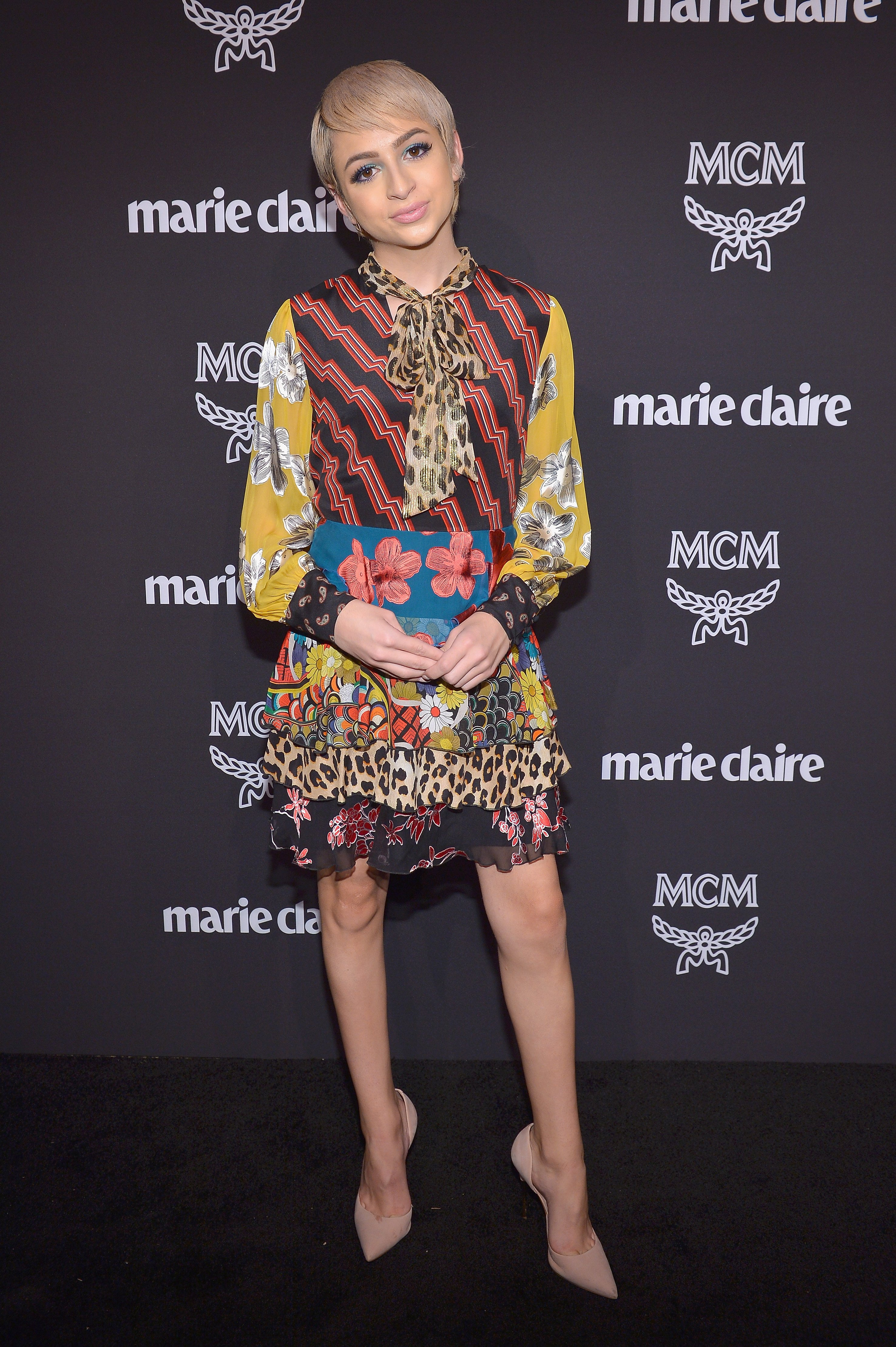 Josie Jay Totah attending MCM x Marie Claire Change Makers Event at Hills Penthouse in West Hollywood, California, in March 2019. | Image: Getty Images..