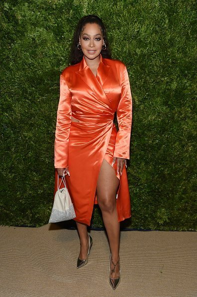 La La Anthony at the CFDA / Vogue Fashion Fund 2019 Awards in New York City.  Photo: Getty Images.