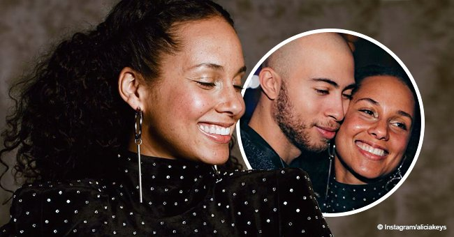 Alicia Keys shares picture with her half-brother, Cole, showing off how much they look alike
