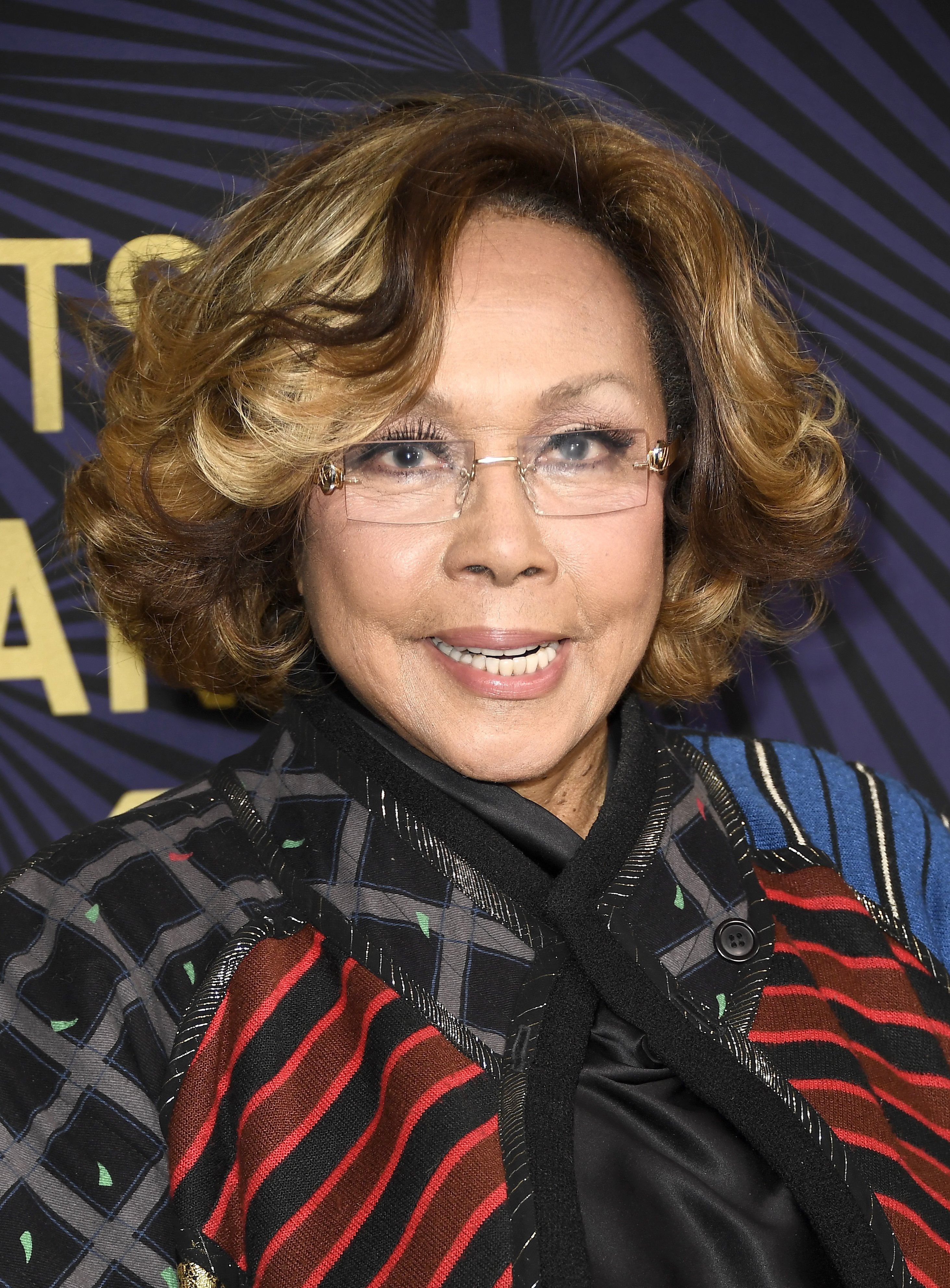 Diahann Carroll at the American Black Film Festival Honors on Feb. 17, 2017 in California | Photo: Getty Images