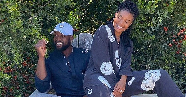 Gabrielle Union Shines Posing with Her Husband Dwyane Wade & Daughter Kaavia in Stylish Outfits