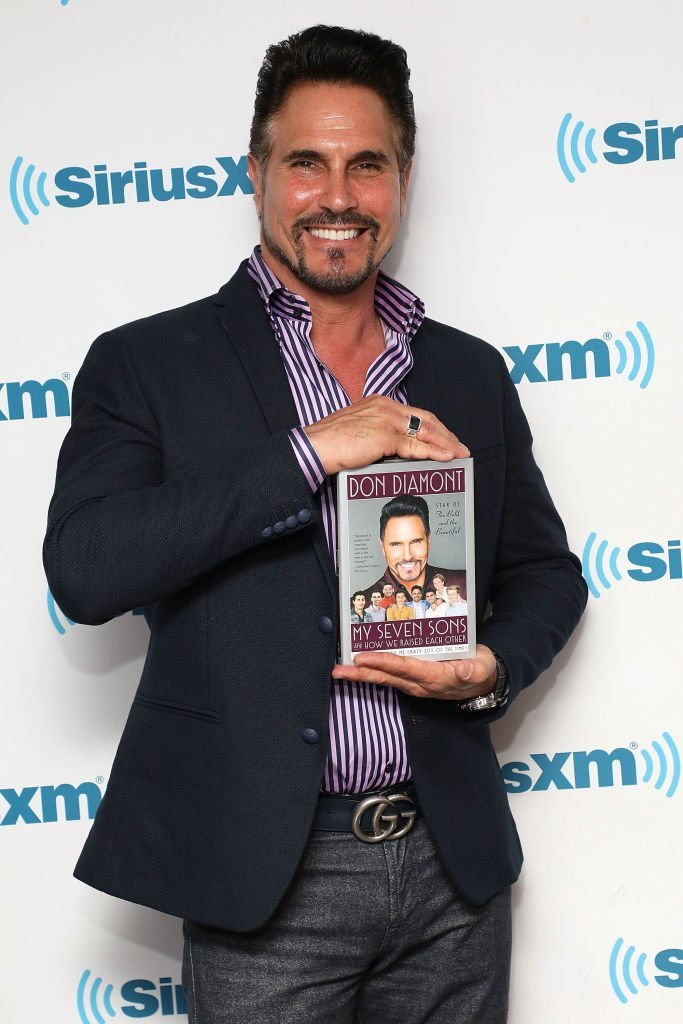 Don Diamont promotes his visits the SiriusXM Studios, on May 30, 2018, New York City | Source: Taylor Hill/Getty Images