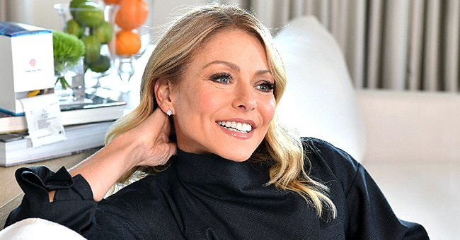 Check Out Kelly Ripa's Fabulous Figure as She Wears a Black Swimsuit in Stunning Throwback Pic