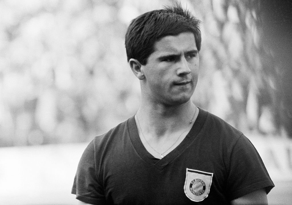 Gerd Müller bei der Deutsche Bundesliga, 1966/1967, MSV Duisburg versus FC Bayern Munich (Photo by Werner OTTO) I Quelle: ullstein bild via Getty Images