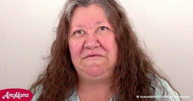 Cette grand-mère déprimée subit un relooking drastique, elle en ressort méconnaissable