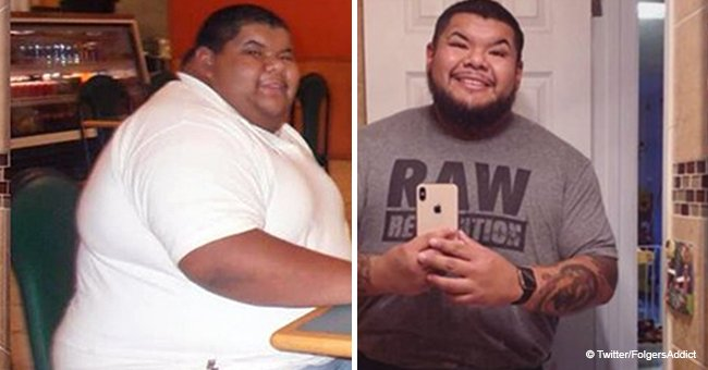 After doctor said man's weight might be fatal, this man made simple changes to lose 200 pounds