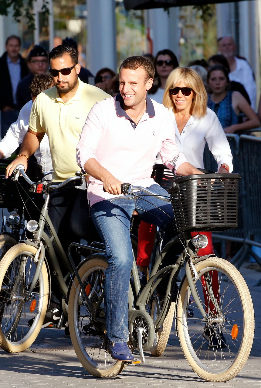 Source : Emmanuel et Brigitte Macron | Photo : Getty Images