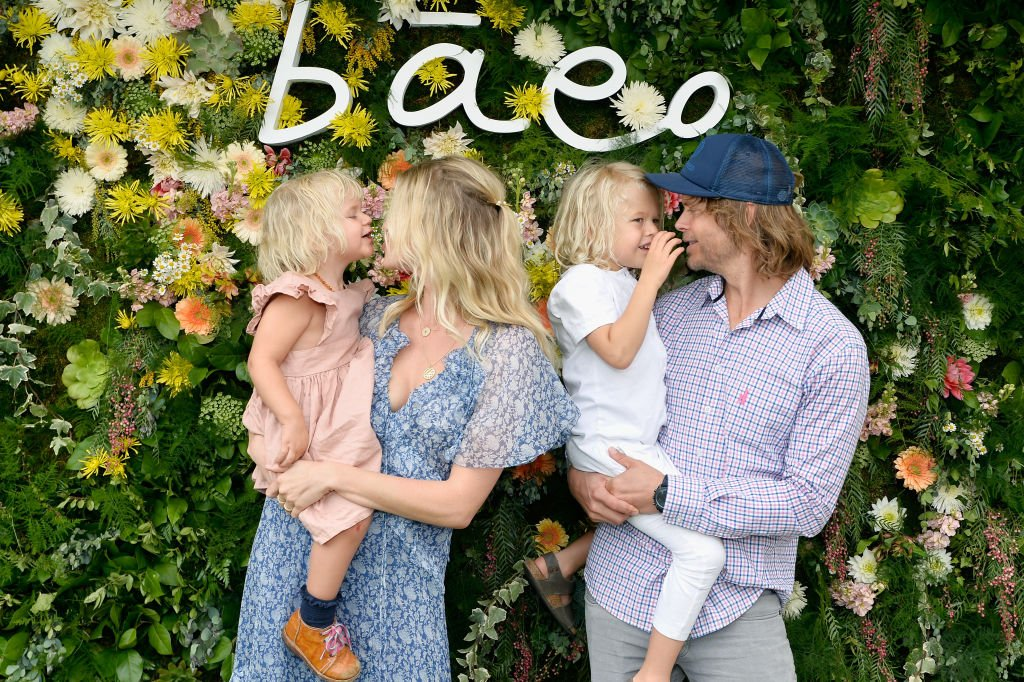 Sarah Wright Olsen and Eric Olsen attend Baeo Launch Party on January 20, 2019 in Pacific Palisades, California. | Source: Getty Images