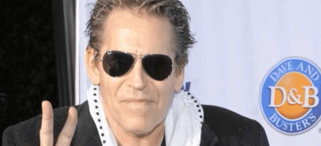 Jeff Conaway in a video uploaded on YouTube in May 2011   Photo: YouTube/Associated Press