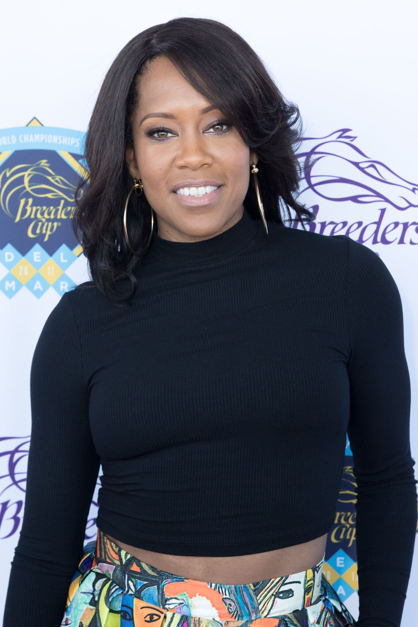 Actress Regina King attends the 2017 Breeders' Cup World Championship at Del Mar Thoroughbred Club | Getty Images