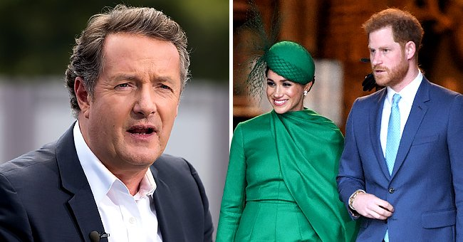 Piers Morgan Amuses 'The Today Show' Hosts as He Talks about Meghan & Harry's Baby Announcement