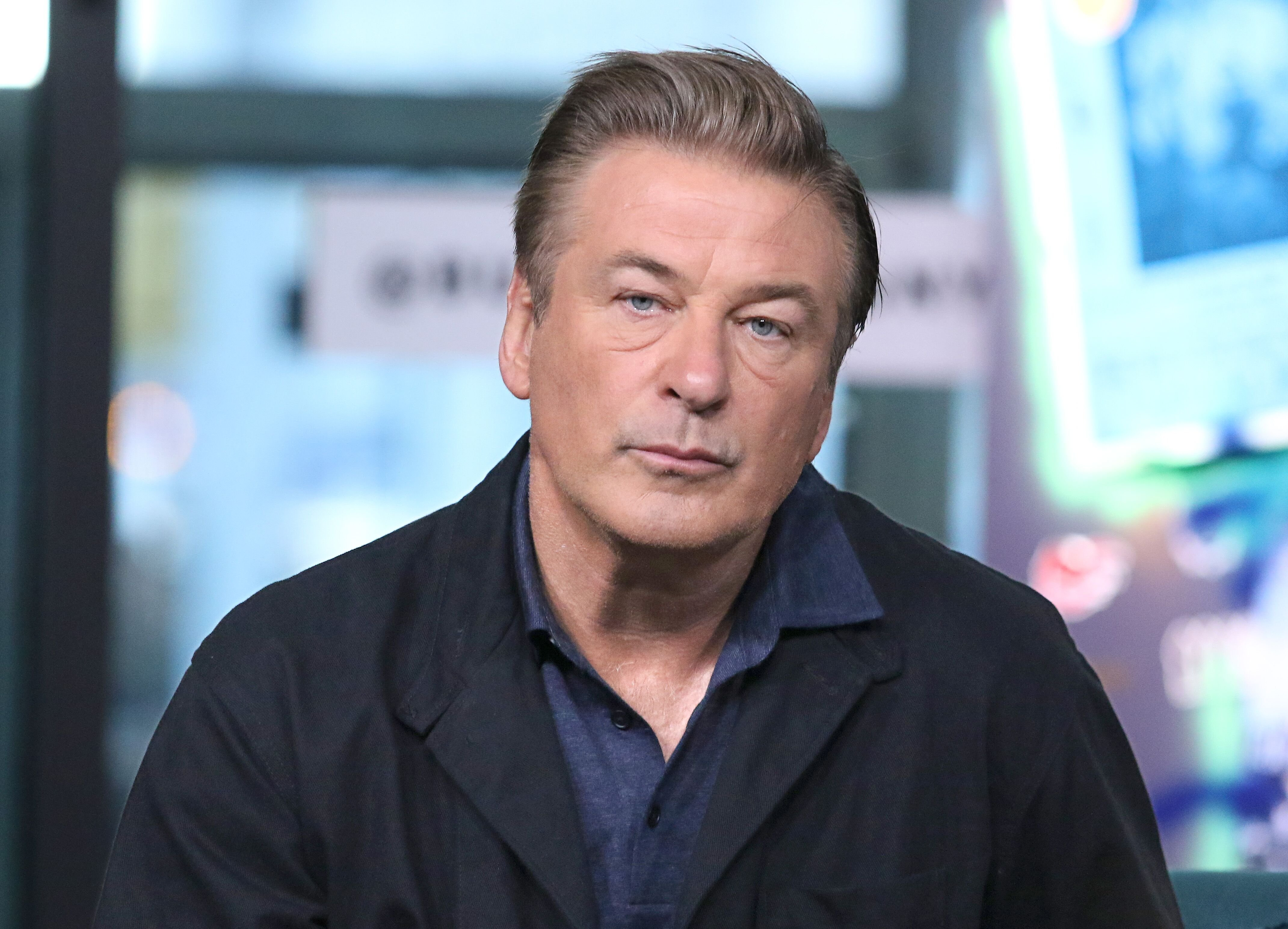 """Alec Baldwin at the Build Series to discuss """"Motherless Brooklyn"""" at Build Studio on October 21, 2019, in New York City 