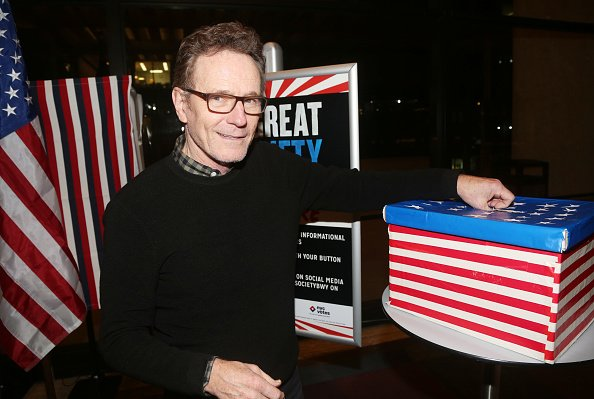 Bryan Cranston at Lincoln Center on November 4, 2019 in New York City. | Photo: Getty Images