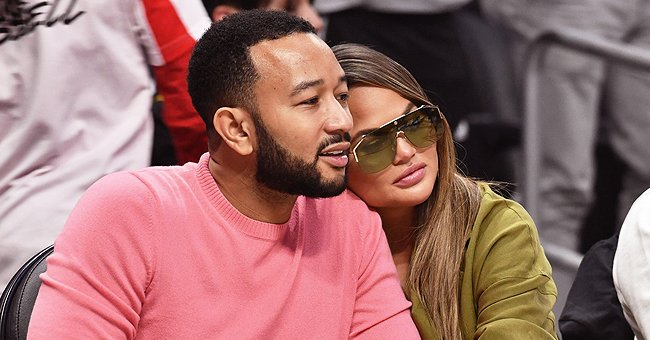 See Chrissy Teigen's 1st Public Appearance with John Legend & Their Kids since Pregnancy Loss