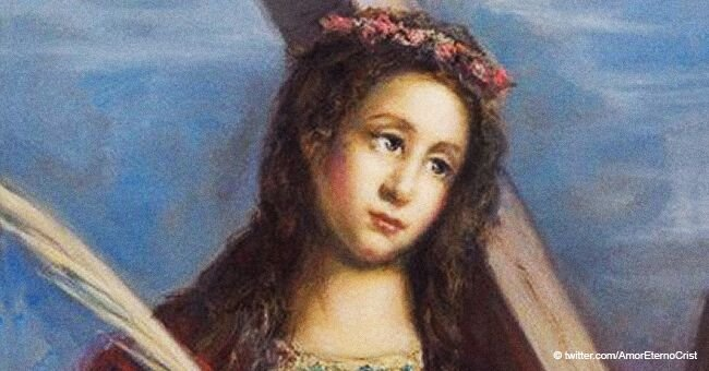 Santa Eulalia, una de las mártires más jóvenes del cristianismo, es venerada hoy 12 de febrero