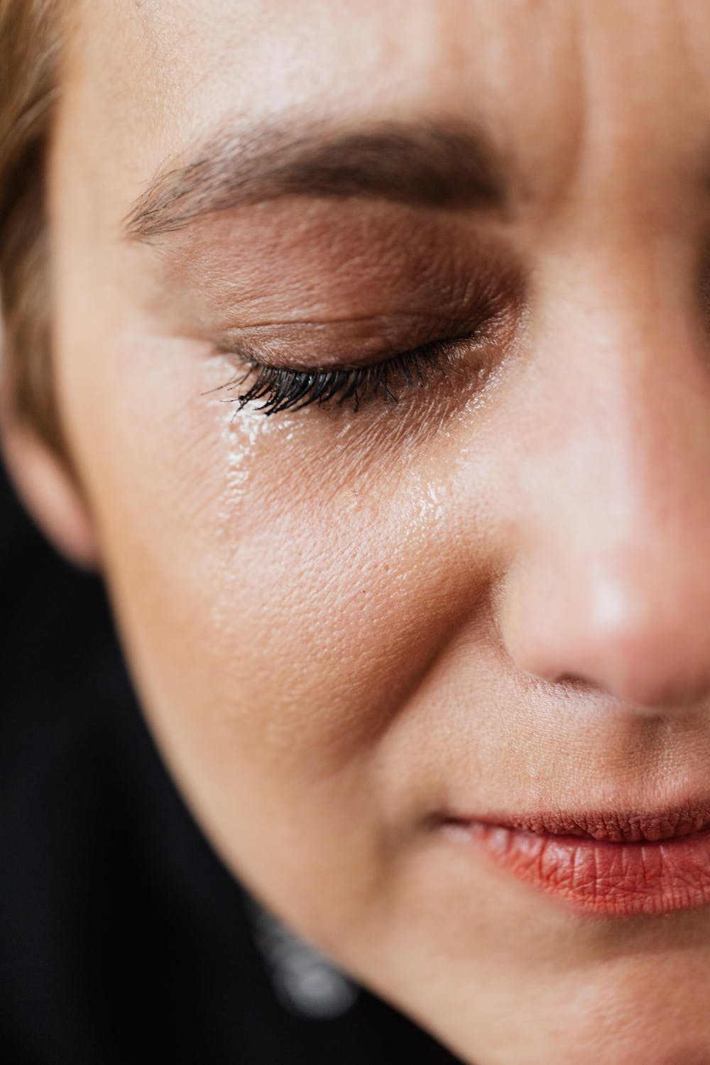 Woman crying | Source: Pexels