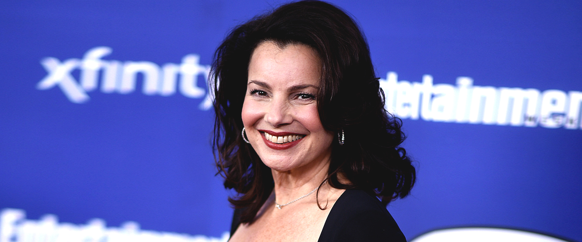 Fran Drescher and Her Ex-husband & 'The Nanny' Co-creator, Peter Marc Jacobson Smile in Pic
