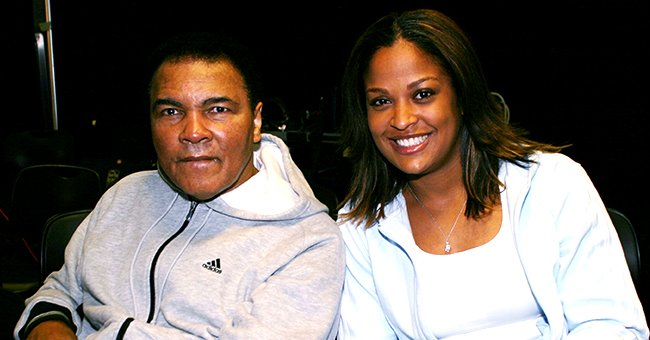 Laila Ali Shares Photo of Her Growing Kids & Fans Say Her Son Looks Like Grandpa Muhammad Ali