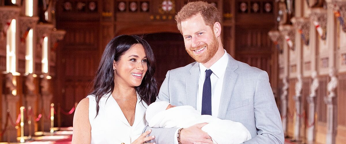 Baby Archie Has Fans Debating Whether He Looks More like Meghan Markle or Prince Harry