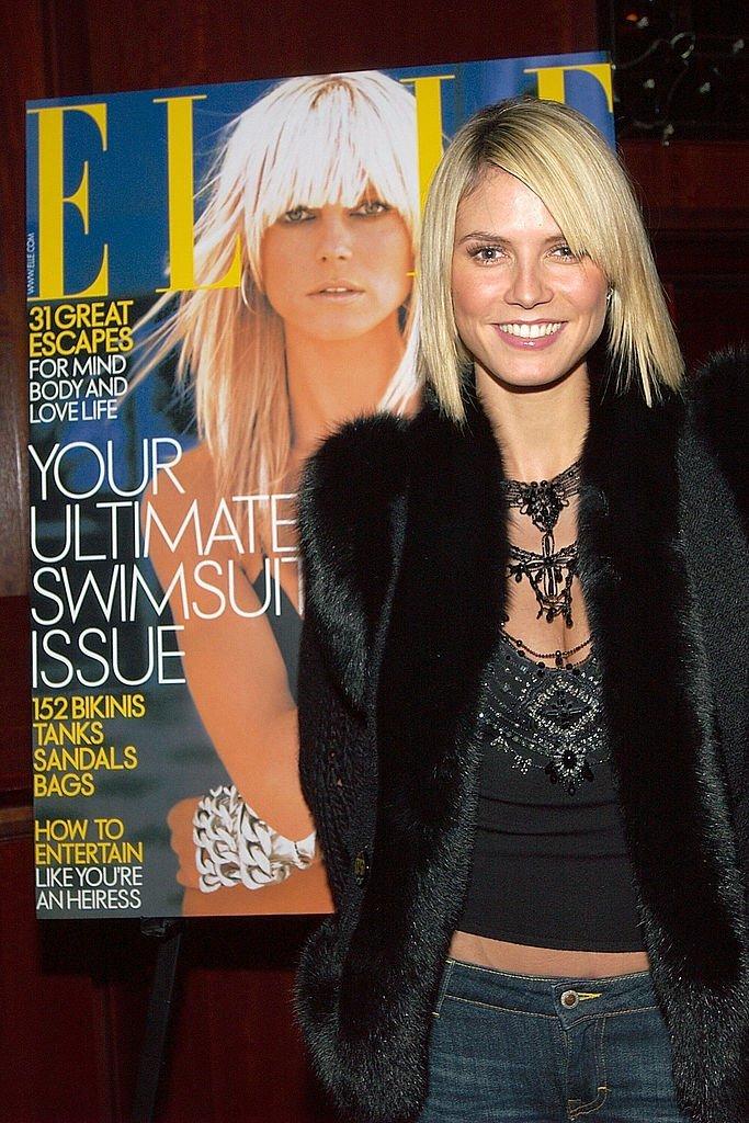 Heidi Klum, New-York, USA 2003 | Quelle: Getty images