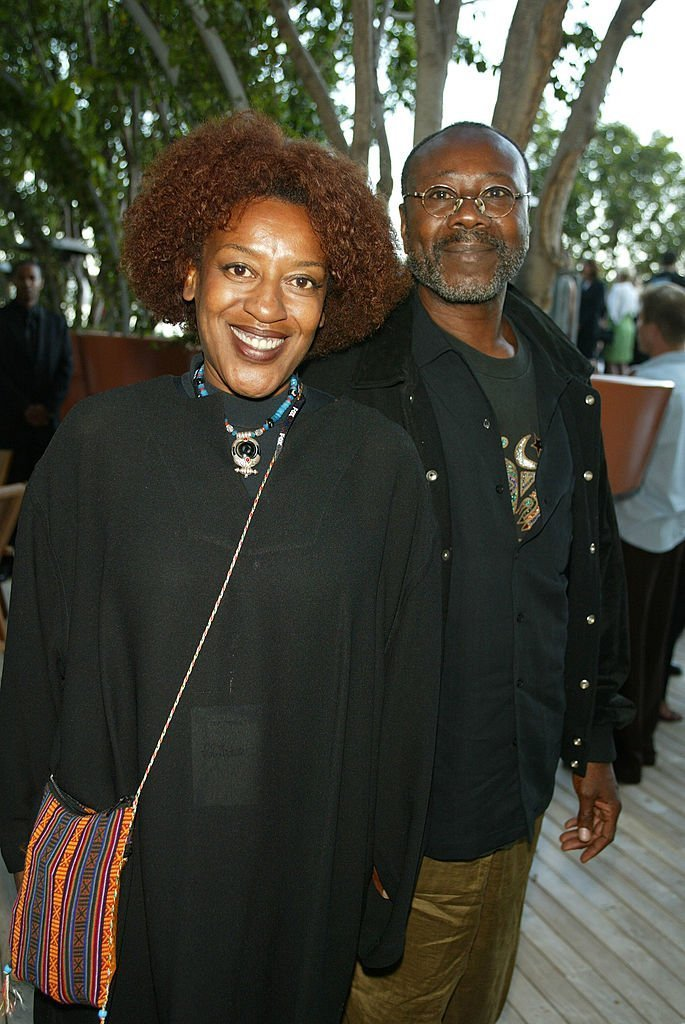 CCH Pounder and late husband Boubacar Kone in 2002. I Image: Getty Images.