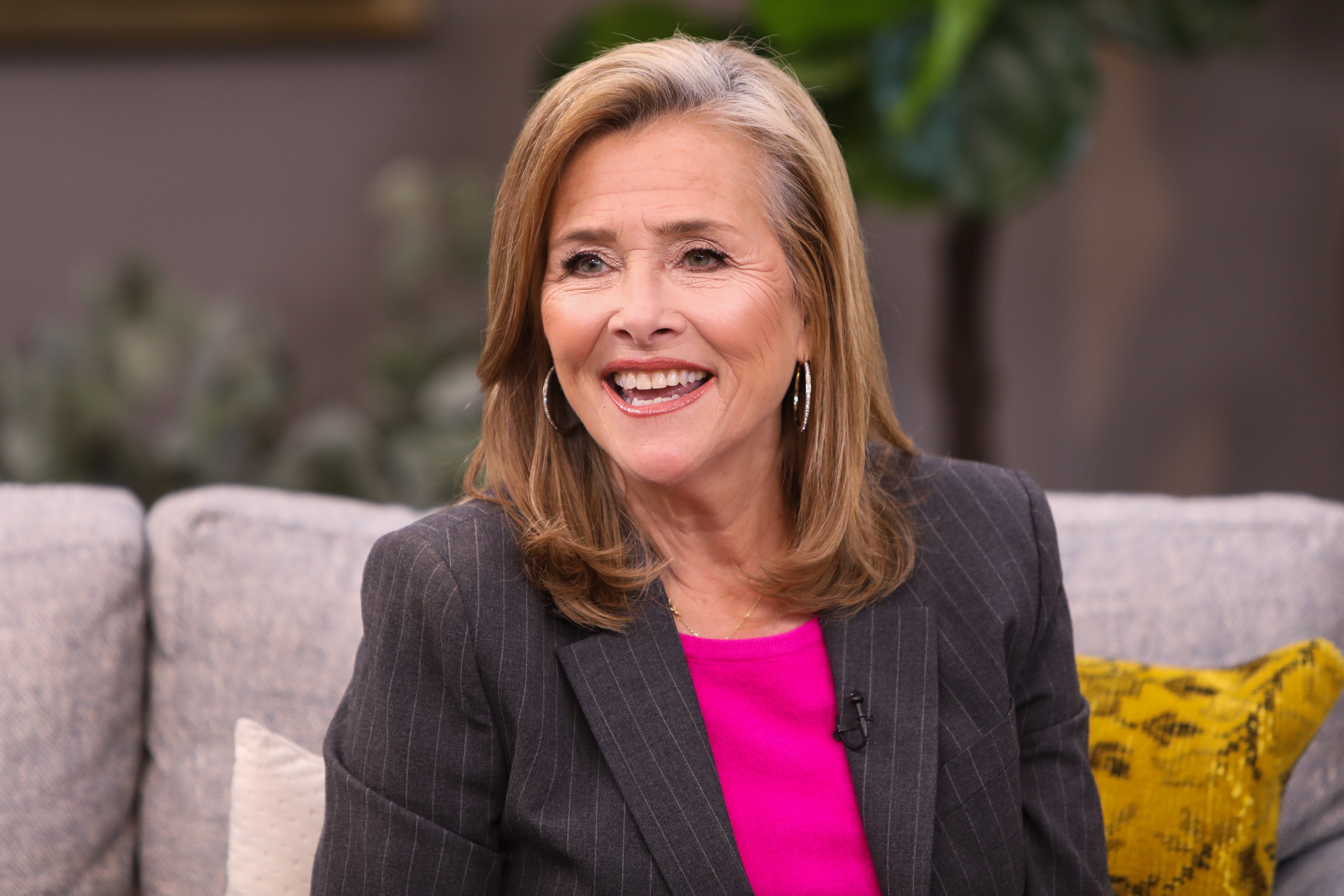 "TV Personality Meredith Vieira visits Hallmark Channel's ""Home & Family"" at Universal Studios Hollywood on October 9, 2019 