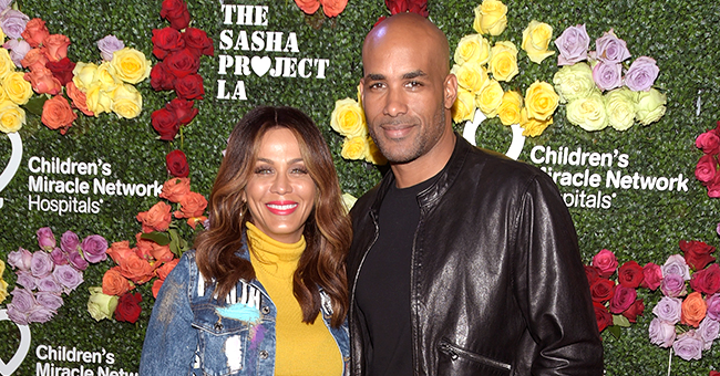 Boris Kodjoe's Wife Wishes Him a Happy 14th Anniversary While He Is 'Busy' in Hilarious Video