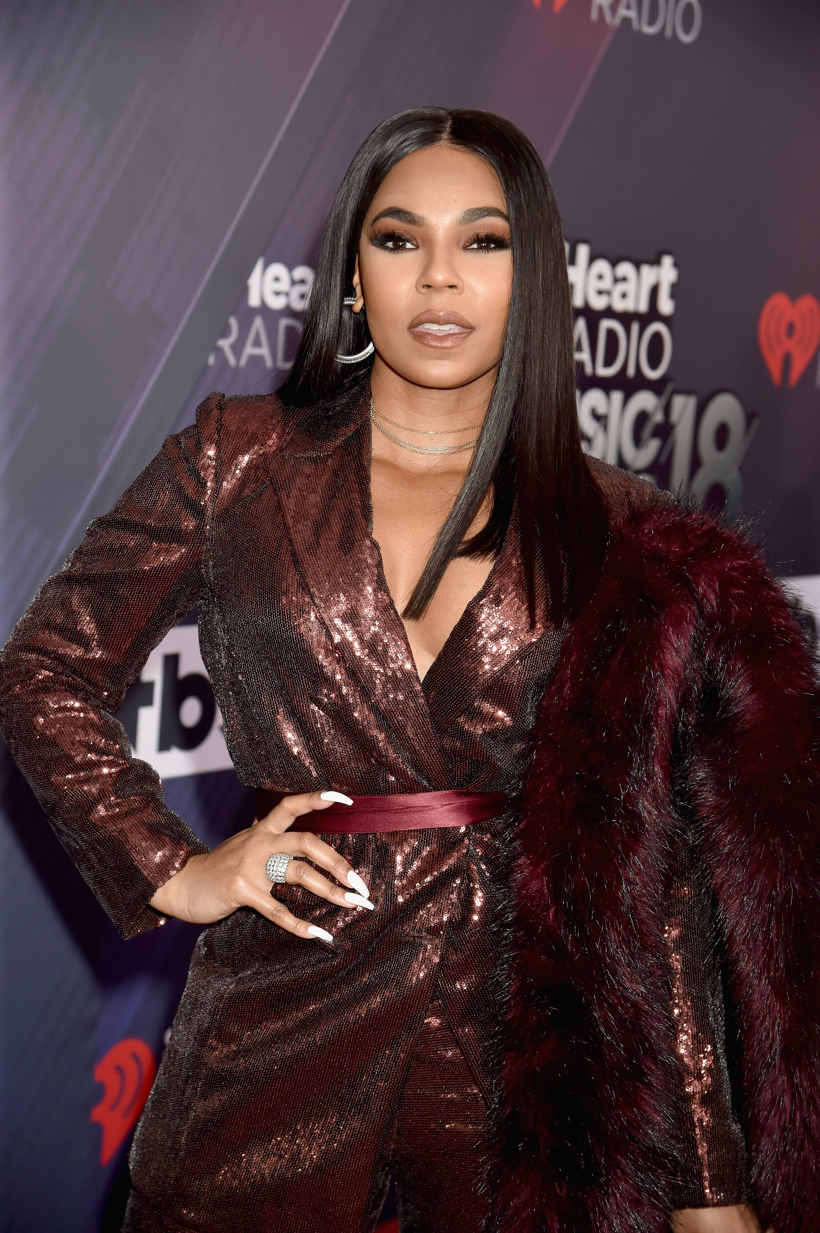 Ashanti at the iHeartRadio Music Awards on March 11, 2018 in Inglewood, California | Photo: Getty Images