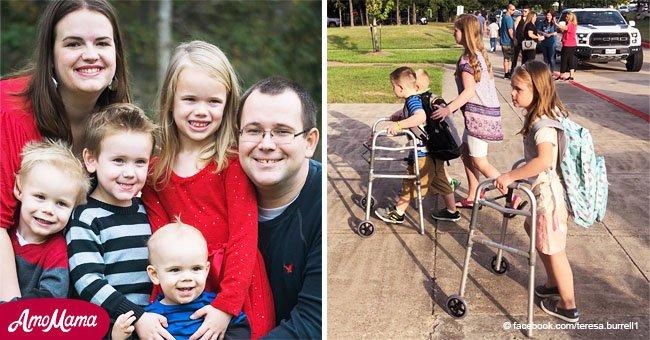 Comment les quatre enfants qui ont perdu leurs deux parents et leur petite sœur dans un accident mortel se portent aujourd'hui