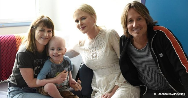 Nicole Kidman & Keith Urban Cheer up Sick Children at a Hospital, and the Pics Are Heart Warming