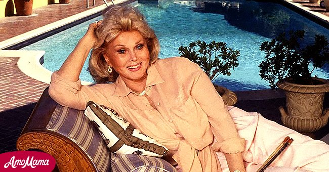 Zsa Zsa Gabor in her Bel-Air mansion in 1992   Photo: Getty Images