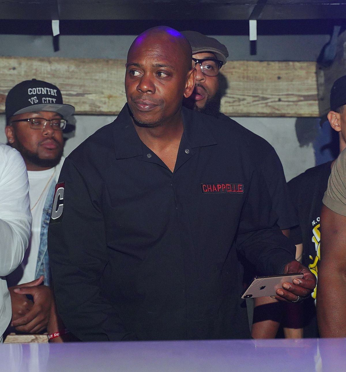 """Dave Chappelle at """"Cassette"""" hosted by Kenny Burns featuring Lil Mo and Noreaga at District Atlanta on June 14, 2019 