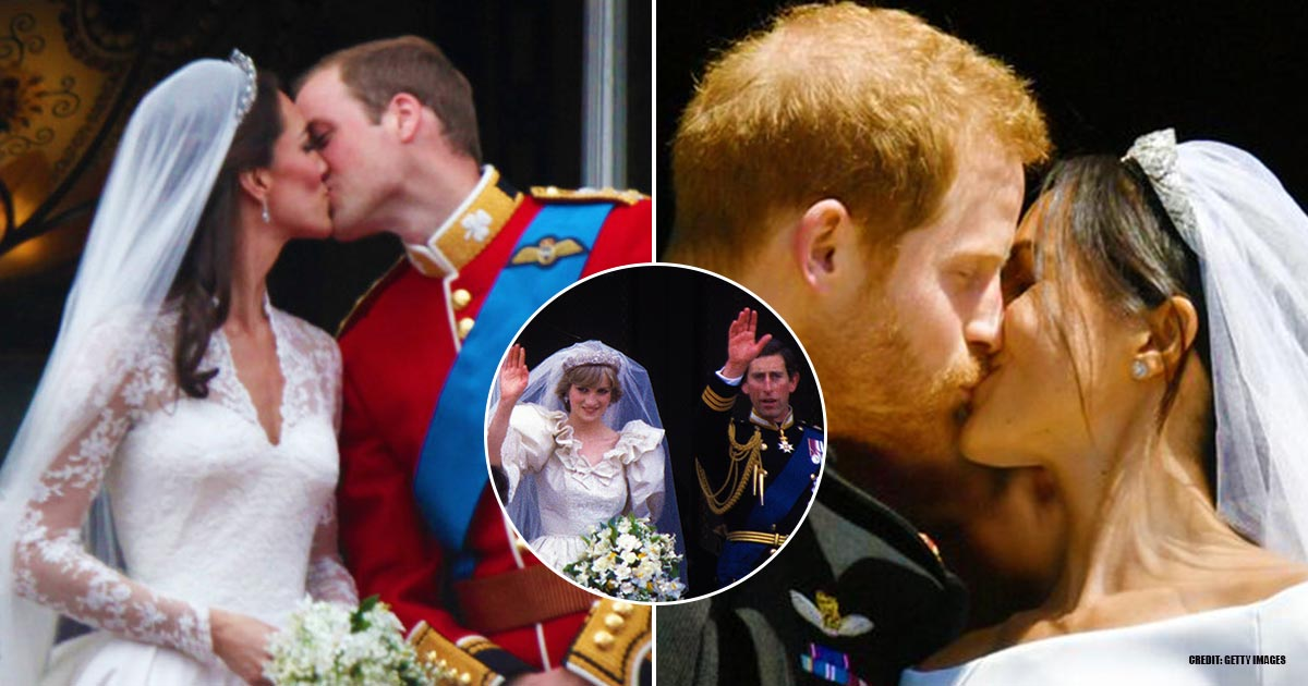 Famous Royal Balcony Kiss Tradition Is A Result Of Prince Charles's Outrageous Wedding Mishap