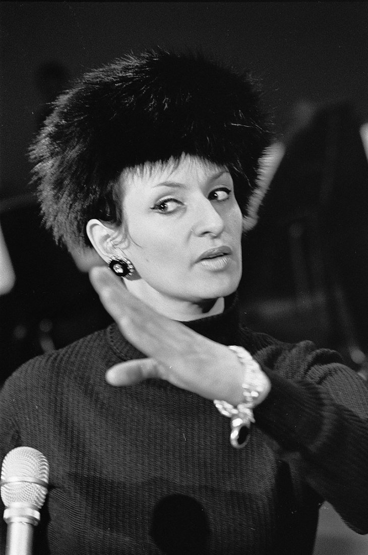 La chanteuse Française Barbara. | Photo : Wikipedia.
