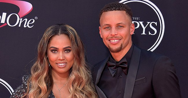 Ayesha and Stephen Curry's 3 Kids Riley, Ryan and Canon Pose Together in a Sweet Photo