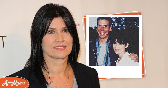 A recent photo of Nancy McKeon. Inset: Nancy and her brother Phillip. | Source: Getty Images