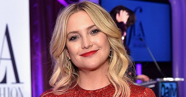 Kate Hudson Does Adorable Mantra Meditation with Her Cute 2-Year-Old Daughter Rani