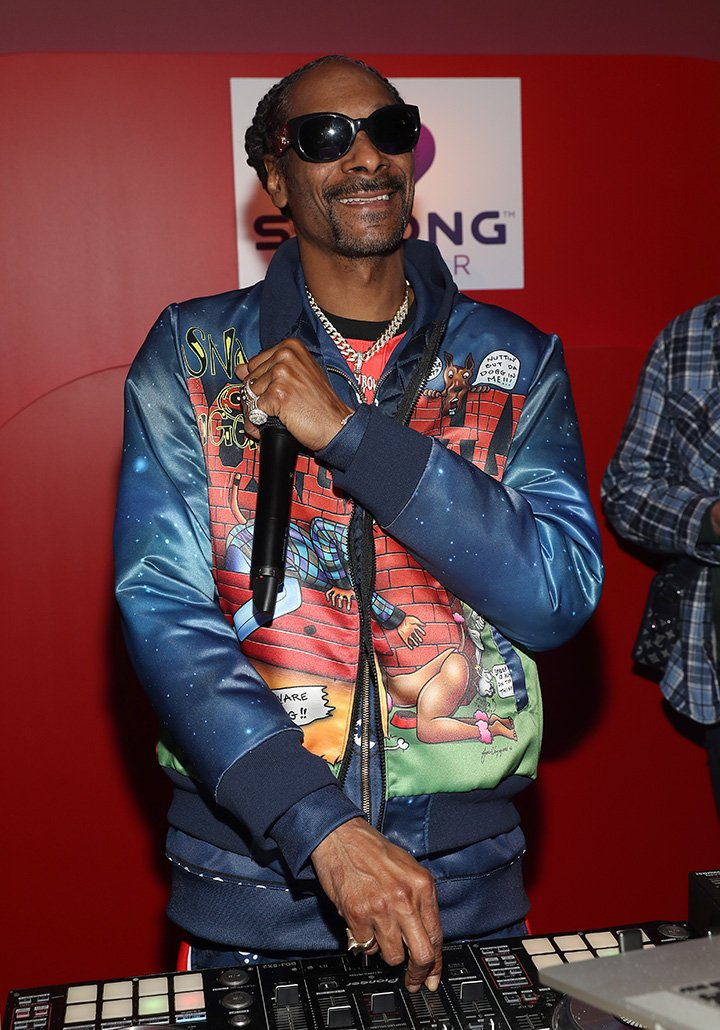 Snoop Dogg performs during the Strong Outdoor launch party on January 22, 2020 in New York City. I Image: Getty Images.