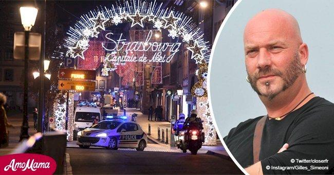 """Attaque à Strasbourg: un ami de Luc Arbogast (The Voice) est """"entre la vie et la mort"""""""