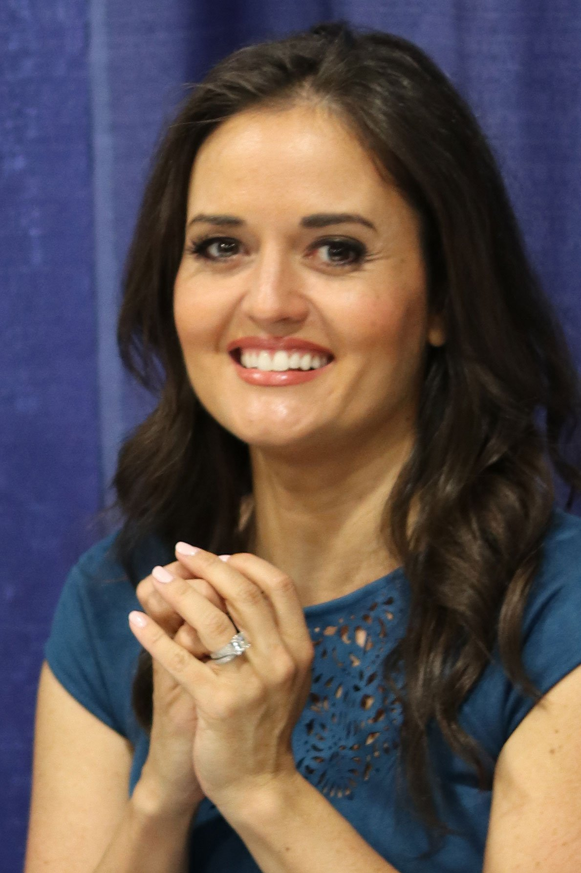 Danica McKellar at the 2018 United States National Book Festival | Source: Wikimedia Commons