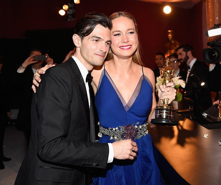 Brie Larson and Alex Greenwald. I Image: Getty Images.